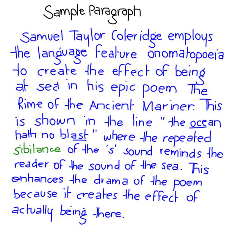 rime of the ancient mariner essay edutronic year  example pee paragraph